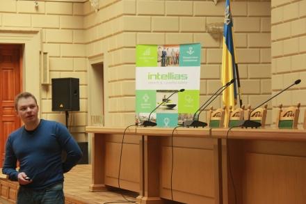 Презентація на Студентській науковій конференції з прикладної математики та інформатики
