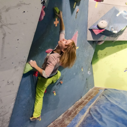 Intellias at rock-climbing festival