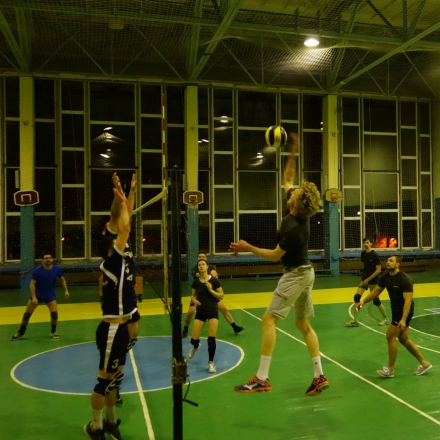 Intellias at IT volleyball league