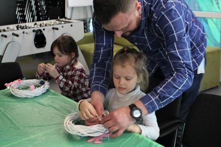 Пасхальний майстер-клас для дітей