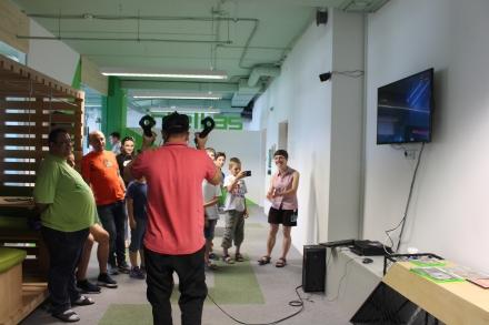Веселі та допитливі студенти з МАНу та IT Step Academy