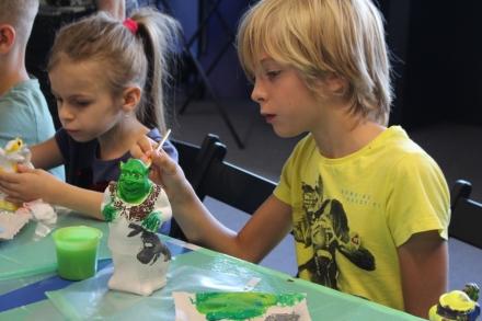 Художній майстер-клас для дітей колег
