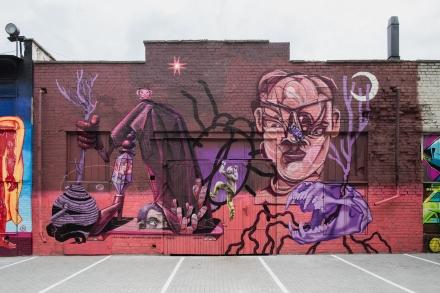 Графіті-художники створили для Intellias 80-метровий мурал (ФОТО)