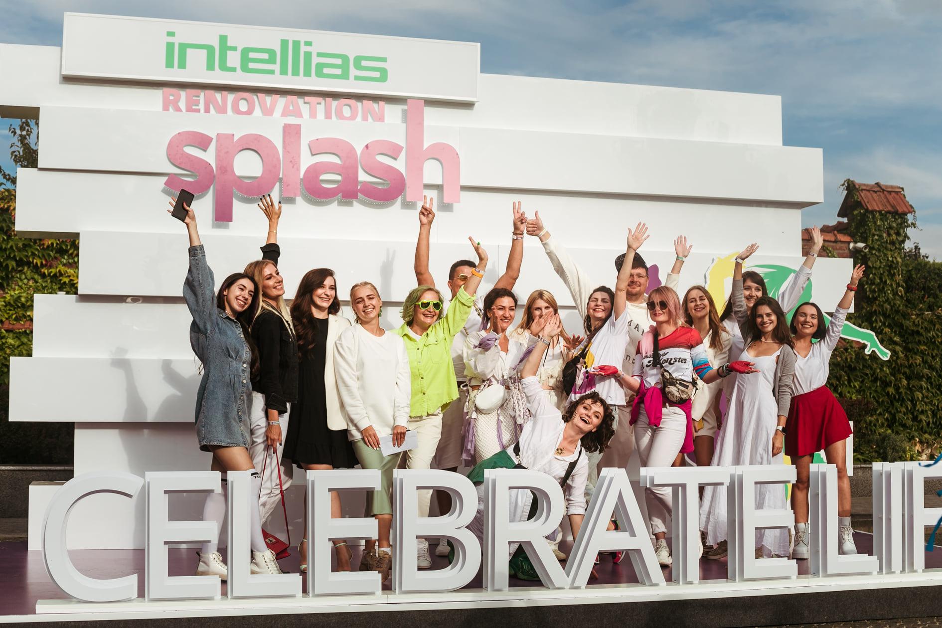 Intellias Renovation Splash як Intellias відсвяткував 19-ту річницю компанії